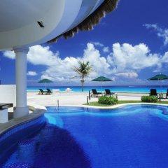 Отель JW Marriott Cancun Resort & Spa Мексика, Канкун - 8 отзывов об отеле, цены и фото номеров - забронировать отель JW Marriott Cancun Resort & Spa онлайн бассейн фото 2