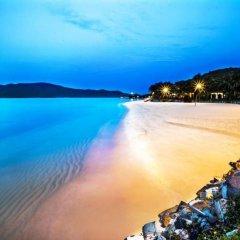 Отель MerPerle Hon Tam Resort пляж