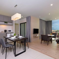 Отель At Mind Serviced Residence Pattaya комната для гостей фото 4