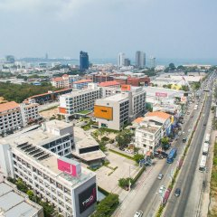 J Inspired Hotel Pattaya балкон