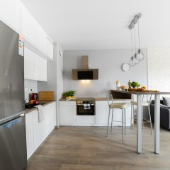 Апартаменты Comfortable Apartment in Warsaw в номере