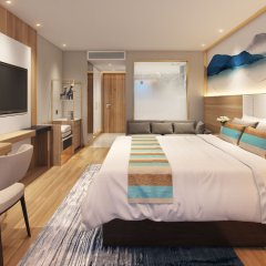 GreenTree Alliance JiangSu SuZhou Xihuan Road Sports Center Hotel комната для гостей фото 3