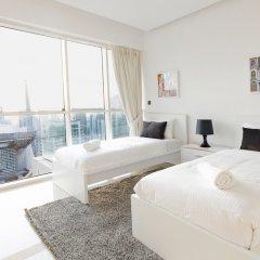 Отель Stunning 4 BDR Penthouse in Dubai Marina комната для гостей фото 3