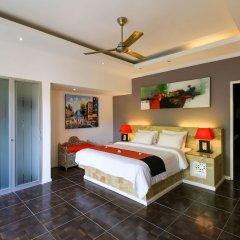 Отель Aleesha Villas сейф в номере