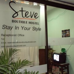 Steve Boutique Hostel Бангкок интерьер отеля