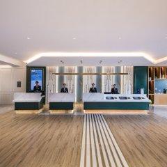 Отель Mercure Shanghai Yu Garden Китай, Шанхай - 1 отзыв об отеле, цены и фото номеров - забронировать отель Mercure Shanghai Yu Garden онлайн фитнесс-зал фото 2