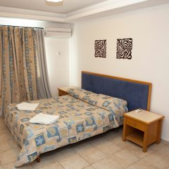 Alecos Hotel Apartments комната для гостей фото 5