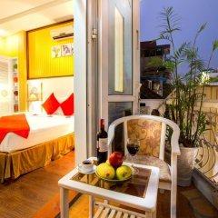 Hanoi Amanda Hotel балкон