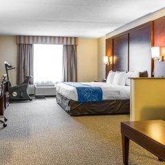 Отель Comfort Suites Manassas Battlefield Park комната для гостей фото 2