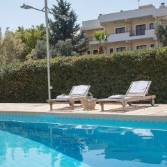 Апартаменты Paphos Love Hut Apartment бассейн