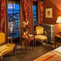 Grand Hotel Les Trois Rois комната для гостей фото 4