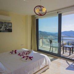 Villa Merak Турция, Калкан - отзывы, цены и фото номеров - забронировать отель Villa Merak онлайн балкон