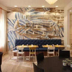 Отель Piemontese Бергамо питание