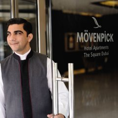 Movenpick Hotel Apartments Al Mamzar Dubai городской автобус