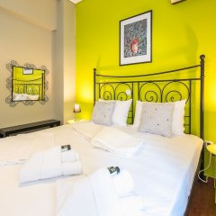 Отель Stylish Apartment with Balcony Греция, Афины - отзывы, цены и фото номеров - забронировать отель Stylish Apartment with Balcony онлайн комната для гостей фото 3
