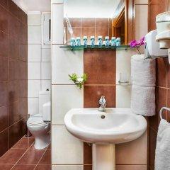 Отель Perea Hotel Греция, Агиа-Триада - 7 отзывов об отеле, цены и фото номеров - забронировать отель Perea Hotel онлайн ванная