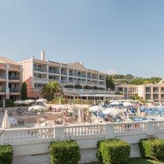 Отель Pierre & Vacances Residence Cannes Villa Francia Франция, Канны - отзывы, цены и фото номеров - забронировать отель Pierre & Vacances Residence Cannes Villa Francia онлайн приотельная территория фото 2