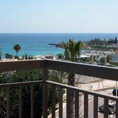 Отель Alva Hotel Apartments Кипр, Протарас - 3 отзыва об отеле, цены и фото номеров - забронировать отель Alva Hotel Apartments онлайн балкон