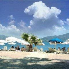 Kayamaris Hotel Турция, Мармарис - отзывы, цены и фото номеров - забронировать отель Kayamaris Hotel онлайн пляж фото 2