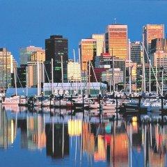 Отель Hyatt Regency Vancouver Канада, Ванкувер - 2 отзыва об отеле, цены и фото номеров - забронировать отель Hyatt Regency Vancouver онлайн приотельная территория