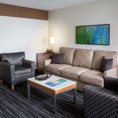 Отель Hyatt Regency Vancouver Канада, Ванкувер - 2 отзыва об отеле, цены и фото номеров - забронировать отель Hyatt Regency Vancouver онлайн комната для гостей фото 4