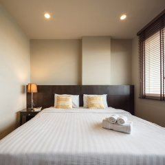 Отель The Tepp Serviced Apartment Таиланд, Бангкок - отзывы, цены и фото номеров - забронировать отель The Tepp Serviced Apartment онлайн комната для гостей фото 3