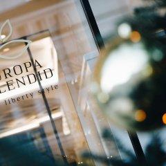 Отель Europa Splendid Италия, Горнолыжный курорт Ортлер - отзывы, цены и фото номеров - забронировать отель Europa Splendid онлайн бассейн фото 3