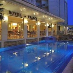 De France Hotel Римини бассейн