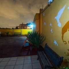 Отель Hostal Amigo Suites Мехико парковка