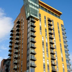 Апартаменты Approved Serviced Apartments VIP вид на фасад фото 2