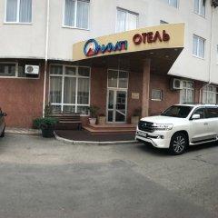 Гостиница Олимп парковка