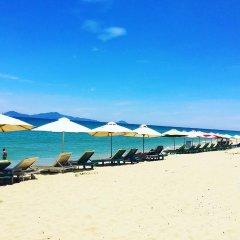 Отель Hung Do Beach Homestay пляж