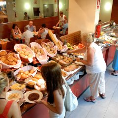 Отель Platjador питание