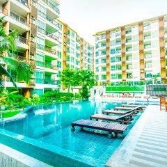 Отель G Residence Pattaya бассейн