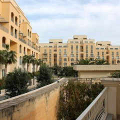 Апартаменты Seaspray Apartments Сан Джулианс балкон