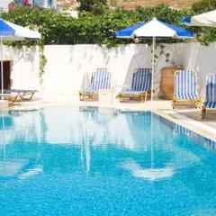 Отель Glaros бассейн фото 3