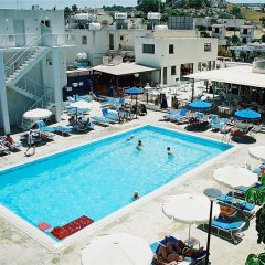 Отель Sweet Memories Hotel Apts Кипр, Протарас - отзывы, цены и фото номеров - забронировать отель Sweet Memories Hotel Apts онлайн бассейн
