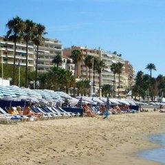 Отель With one Bedroom in Cannes, With Wonderful City View, Balcon Франция, Канны - отзывы, цены и фото номеров - забронировать отель With one Bedroom in Cannes, With Wonderful City View, Balcon онлайн пляж