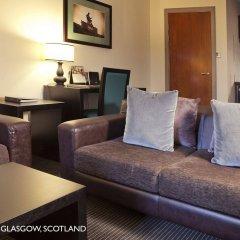 Отель Fraser Suites Glasgow Великобритания, Глазго - отзывы, цены и фото номеров - забронировать отель Fraser Suites Glasgow онлайн комната для гостей фото 2