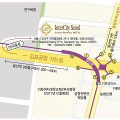 Отель Inter City Seoul городской автобус