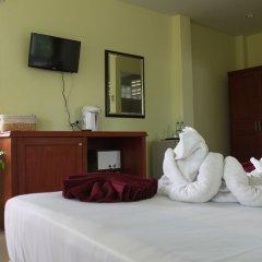 Отель Merit Hill Таиланд, Карон-Бич - отзывы, цены и фото номеров - забронировать отель Merit Hill онлайн комната для гостей фото 2