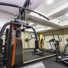 Отель Амбассадор фитнесс-зал фото 2