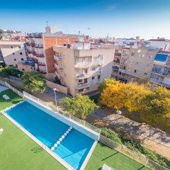 Отель Apartaments AR Espronceda Испания, Бланес - отзывы, цены и фото номеров - забронировать отель Apartaments AR Espronceda онлайн балкон