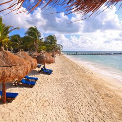 Отель Desire Riviera Maya Pearl Resort All Inclusive- Couples Only пляж фото 2