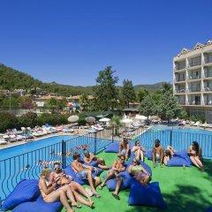 Kervansaray Marmaris Hotel & Aparts Мармарис фитнесс-зал