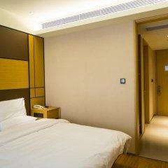 Отель JI Hotel Shanghai Hongqiao Transport Hub Linkong Zone Китай, Шанхай - отзывы, цены и фото номеров - забронировать отель JI Hotel Shanghai Hongqiao Transport Hub Linkong Zone онлайн комната для гостей фото 5