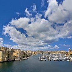 Отель Seashells Studio Seaview terrace Мальта, Буджибба - отзывы, цены и фото номеров - забронировать отель Seashells Studio Seaview terrace онлайн приотельная территория