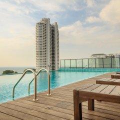 Отель Hamilton Grand Residence Таиланд, На Чом Тхиан - отзывы, цены и фото номеров - забронировать отель Hamilton Grand Residence онлайн бассейн
