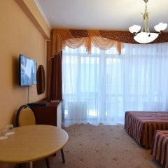 Гостиница Бригантина комната для гостей фото 11