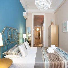 Отель Casa Maca Guest House Барселона комната для гостей
